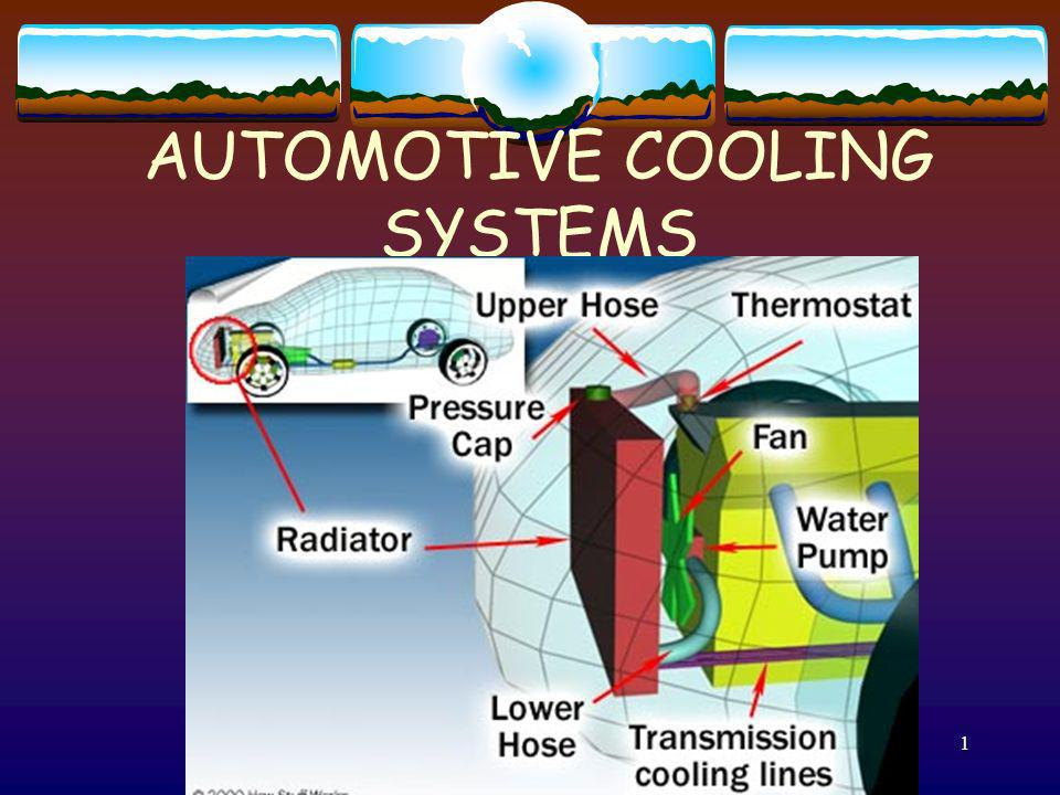 2 Purpose of the Cooling system Control temperature of hot combustion.