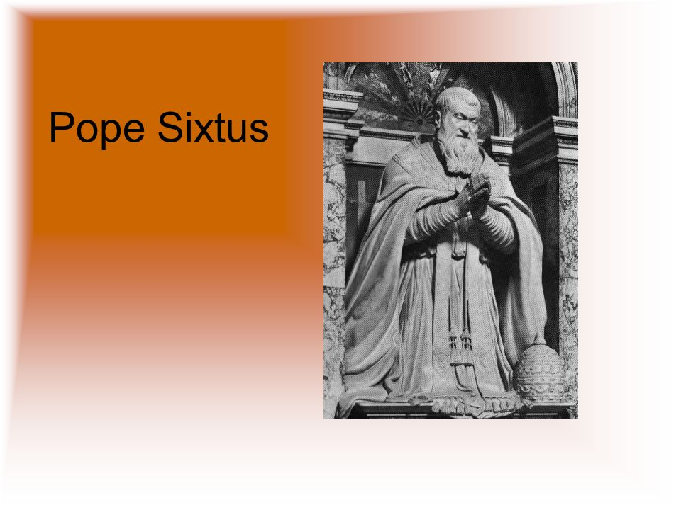 Pope Sixtus