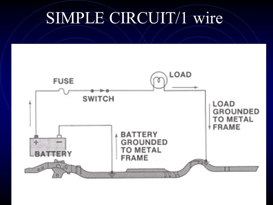 10 TYPES of CIRCUITS Simple Chassis ground One wire Series Parallel Series/parallel