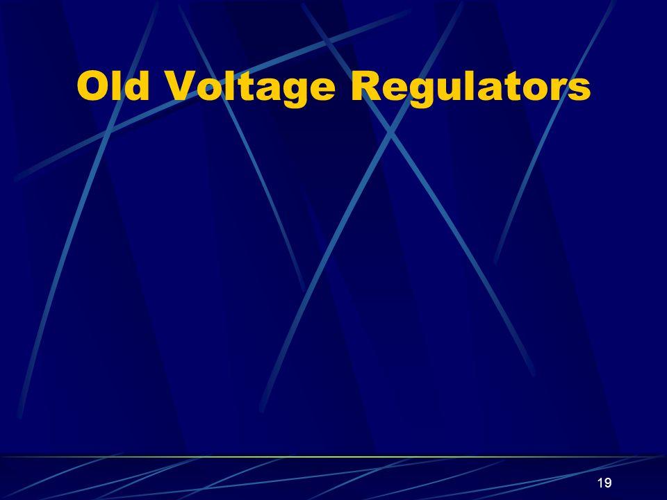 19 Old Voltage Regulators