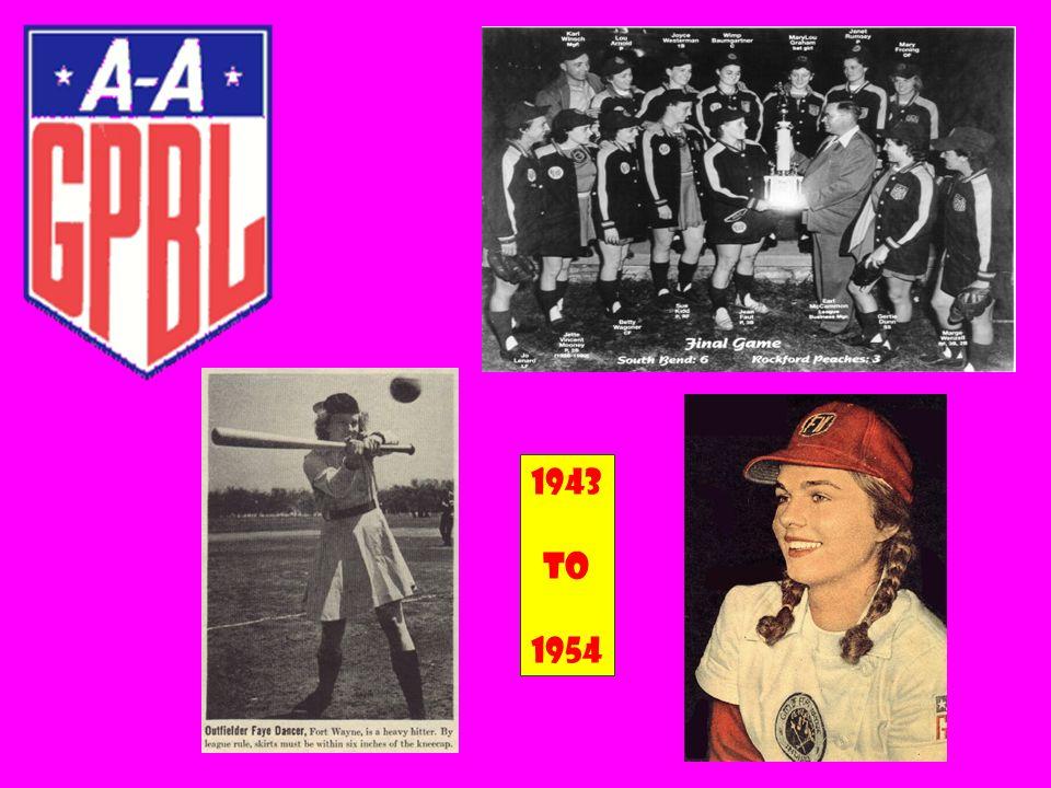 1943 To 1954
