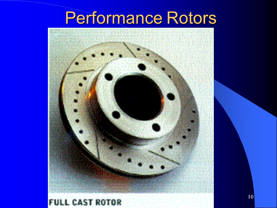 10 Performance Rotors