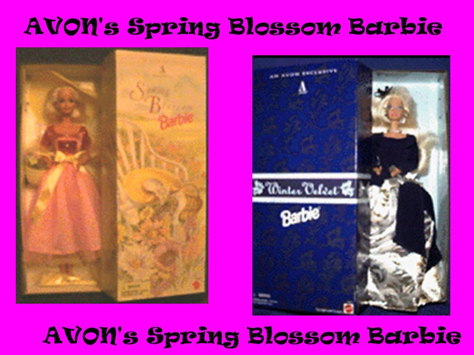 AVON's Spring Blossom Barbie