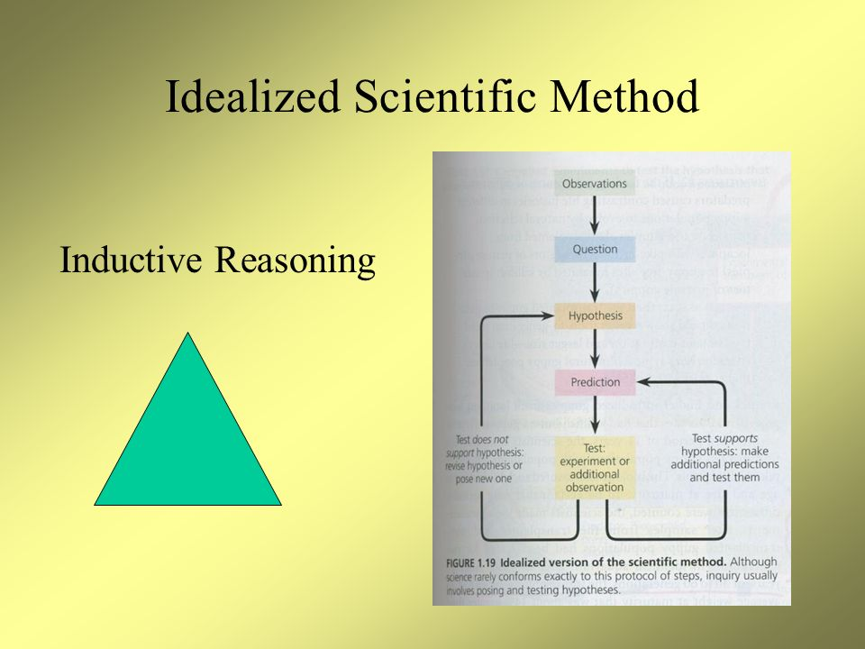 Idealized Scientific Method Inductive Reasoning