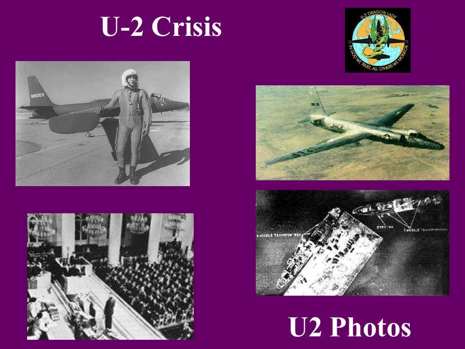 U-2 Crisis U2 Photos
