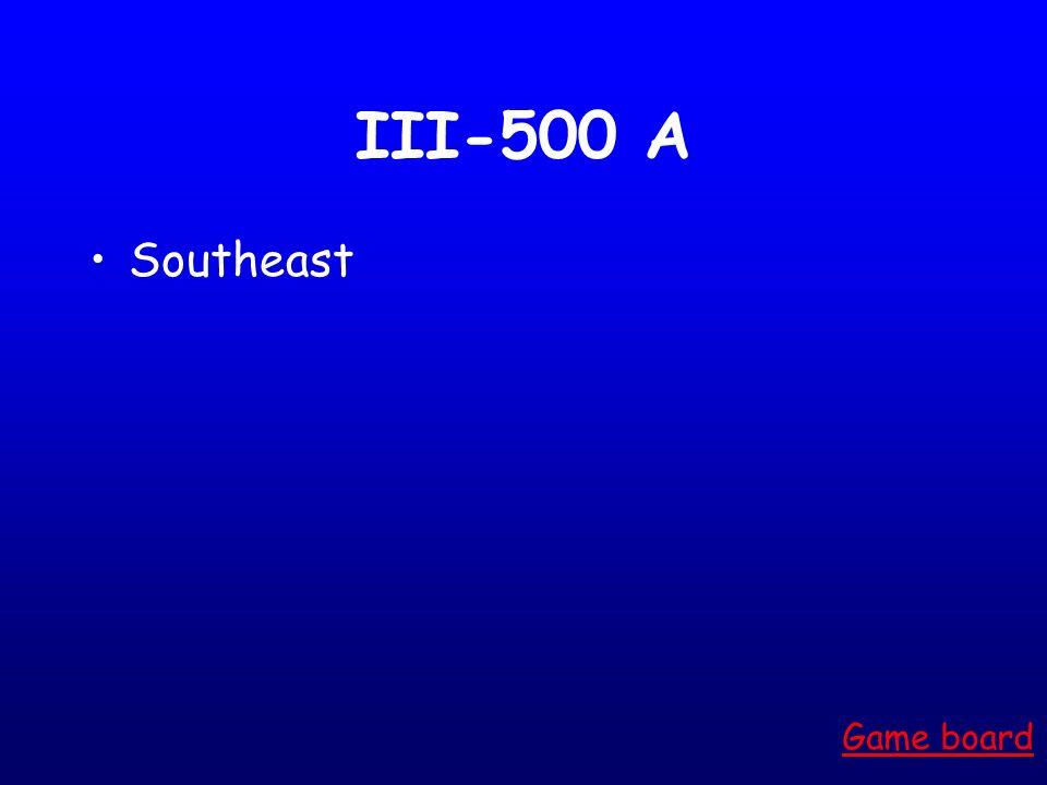 III-400 A Pacific Mid-Atlantic Game board