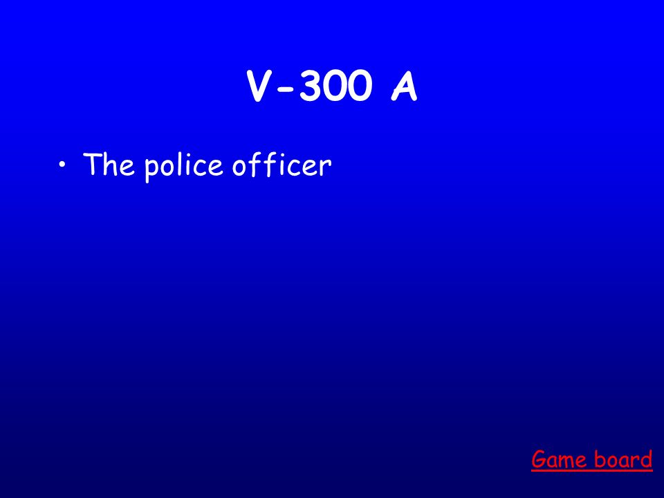 V-200 A Melaku Angela Game board