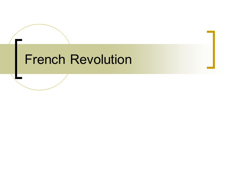Causes of the French Revolution Bad Harvests High Prices (Inflation) High Taxes Enlightenment Ideas Debt Ineffective leadership of Louis XVI