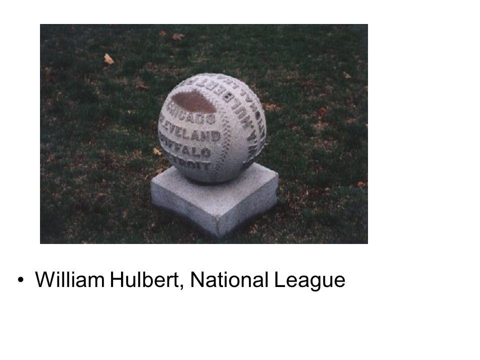 William Hulbert, National League