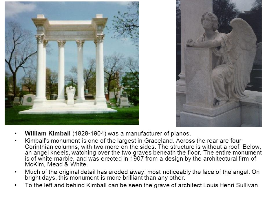 William Kimball (1828-1904) was a manufacturer of pianos.