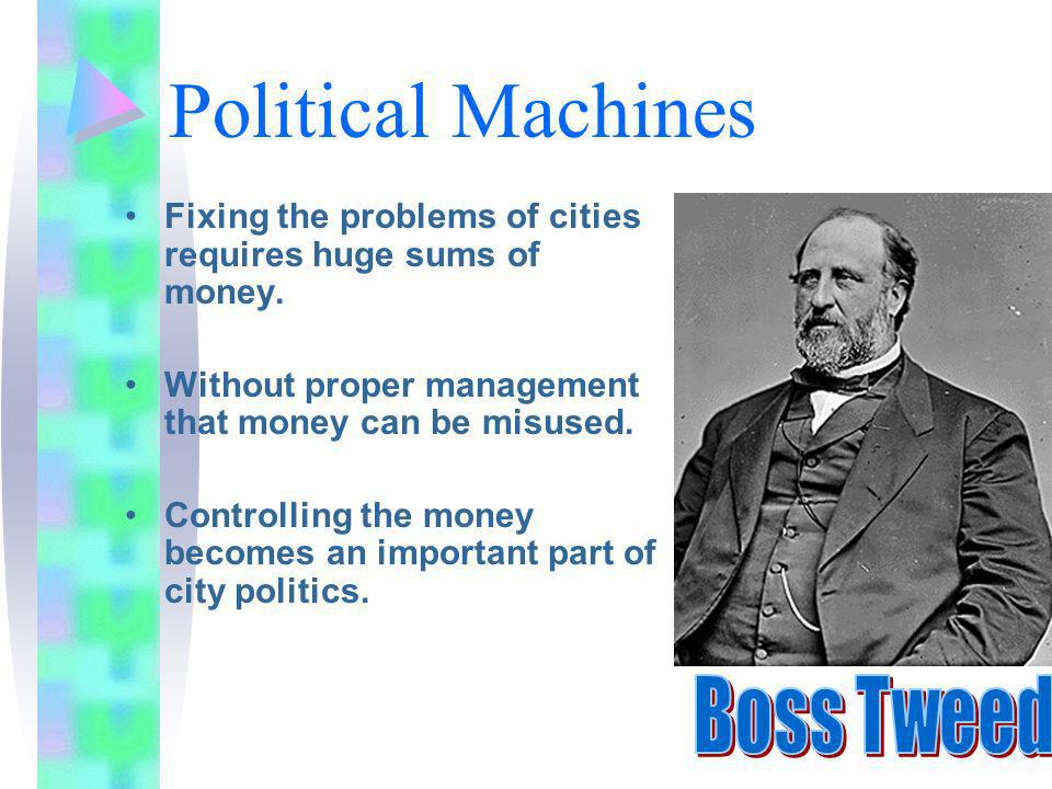 Political Machines and Solutions to Corruption Chapter 7 sec. 3+4 © Shawn McCusker