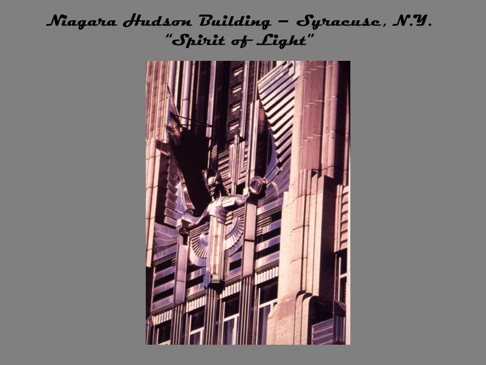 Niagara Hudson Building – Syracuse, N.Y. Spirit of Light