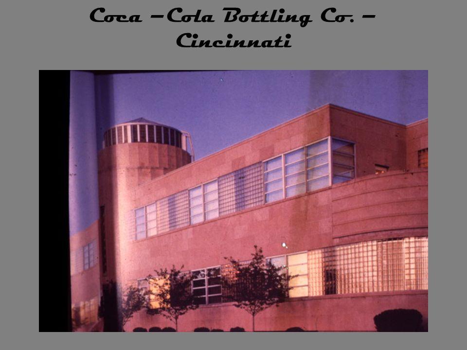 Coca –Cola Bottling Co. – Cincinnati