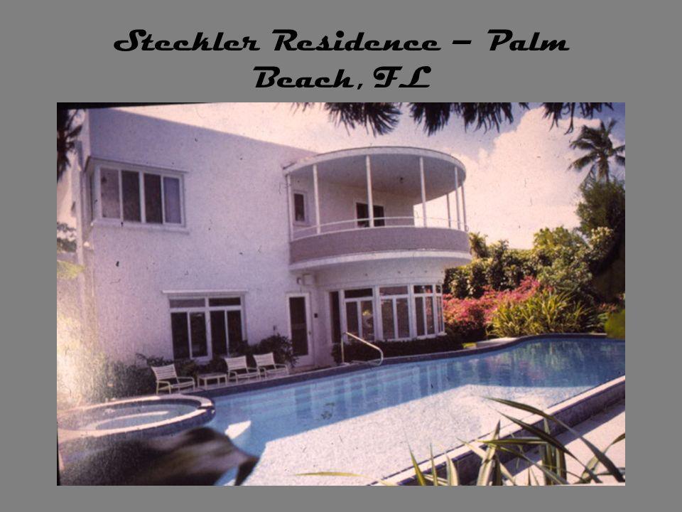 Steckler Residence – Palm Beach, FL