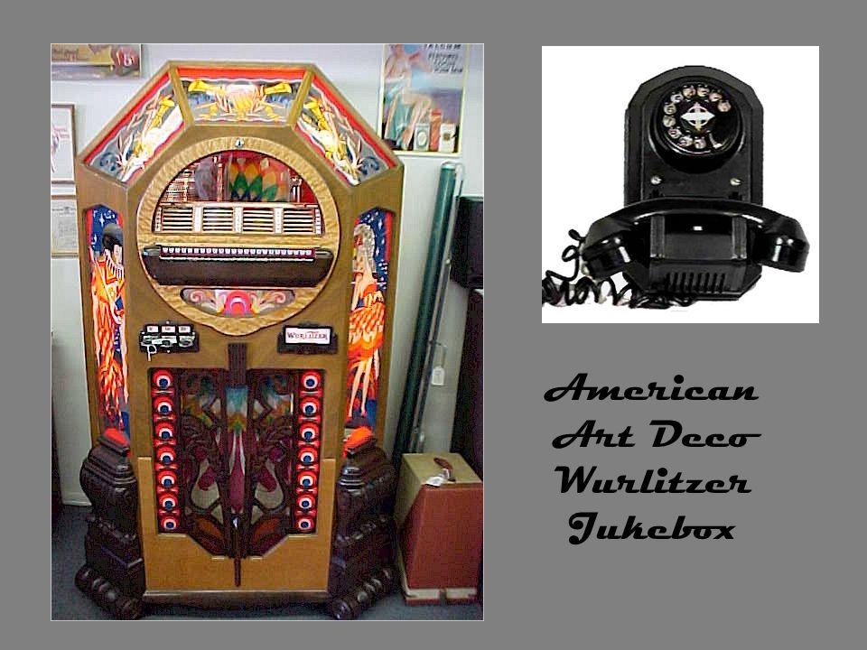 American Art Deco Wurlitzer Jukebox