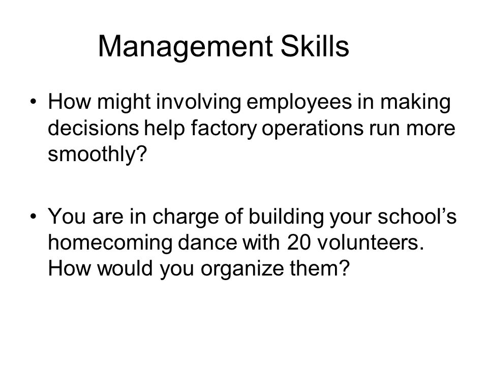 Sec.12.1: Designing Organizations What ways do you organize your personal lives.
