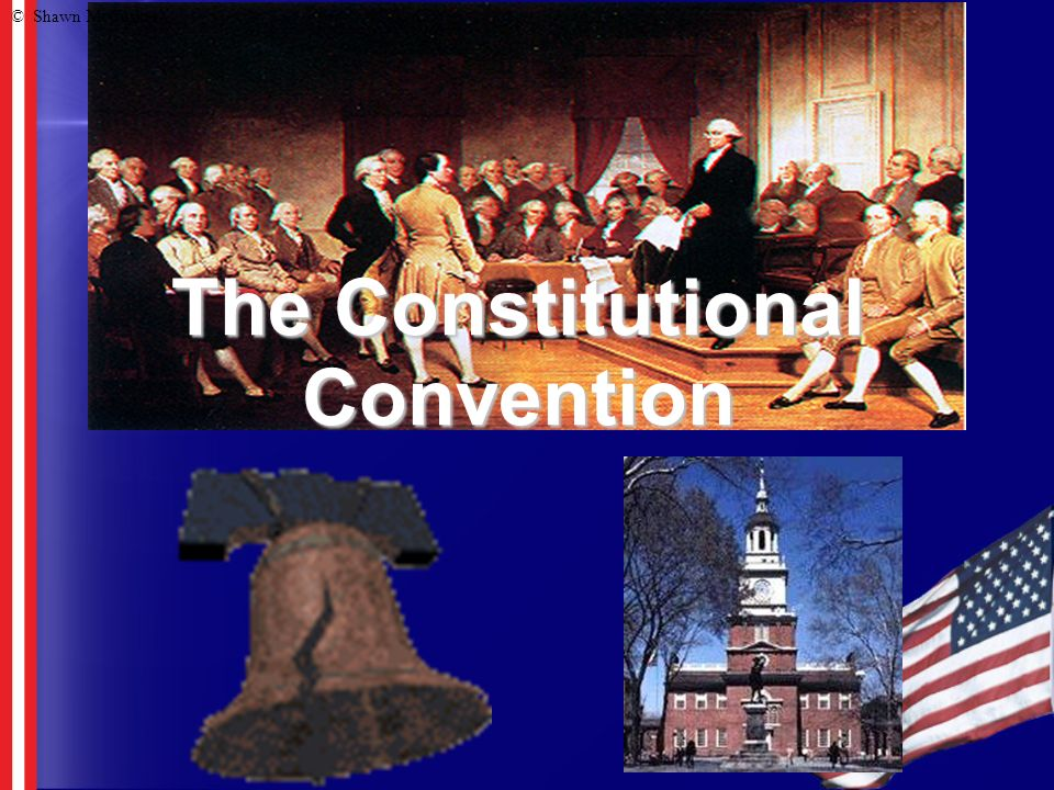 Constitutional Convention The states realized that they needed to make some changes So they met in Philadelphia in 1787.