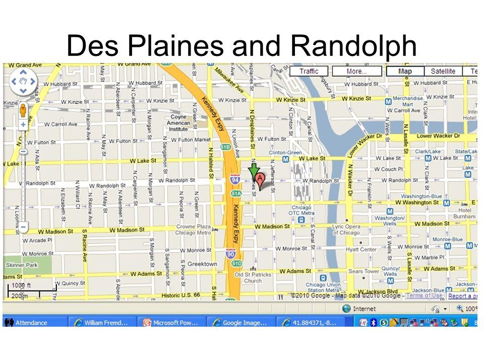 Des Plaines and Randolph