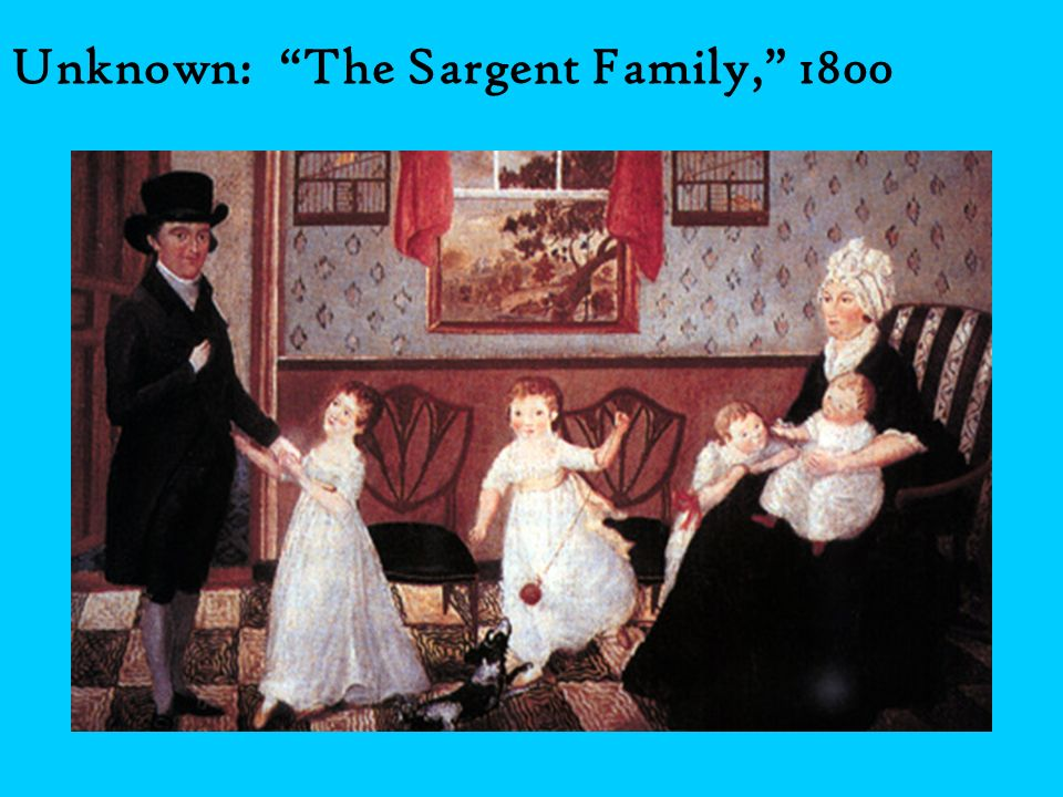 Unknown: The Sargent Family, 1800
