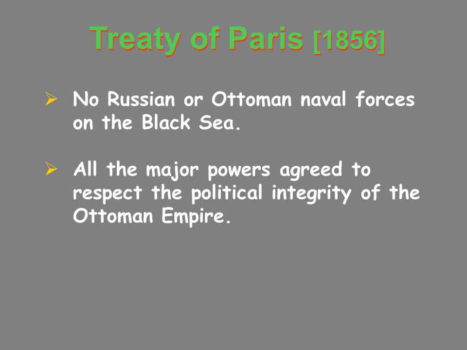 The Crimean War [1854- 1856]