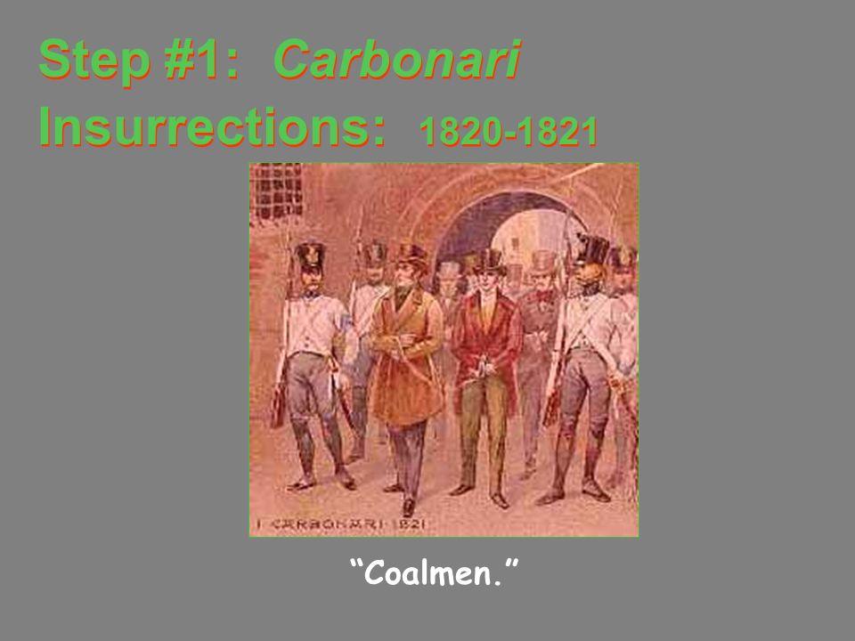 Sardinia-Piedmont: The Magnet Italian unification movement: Risorgimento [Resurgence]