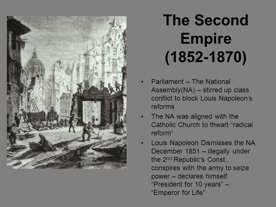 (Louis) Napoleon III 1808-1873 Program for France- Napoleonic Ideas & Elimination of Poverty