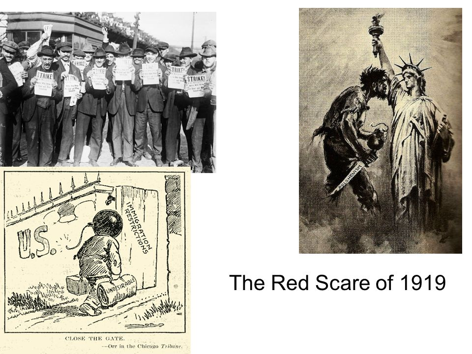 The Red Scare of 1919