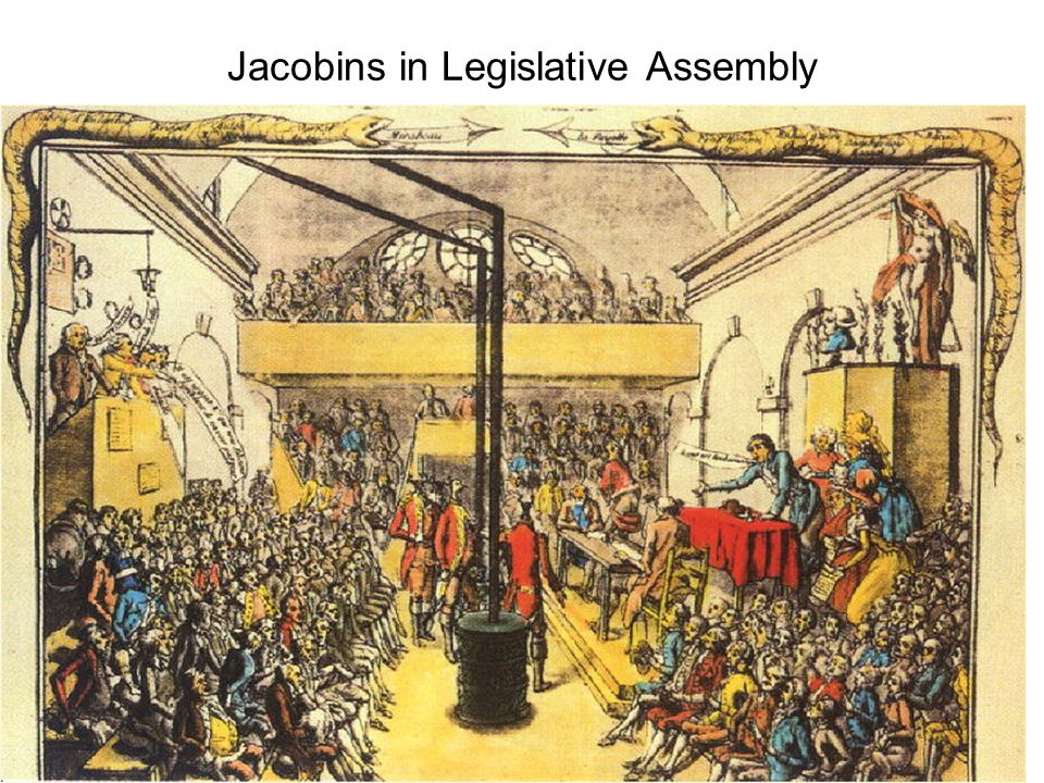 Jacobins in Legislative Assembly