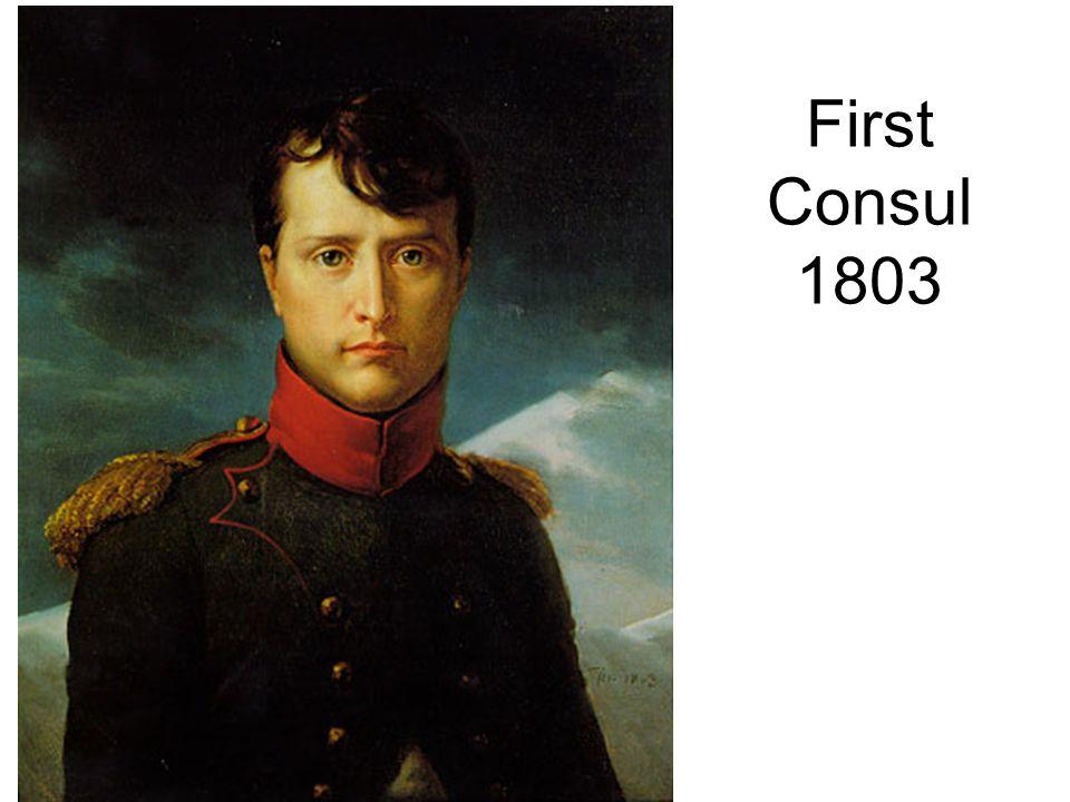 First Consul 1803
