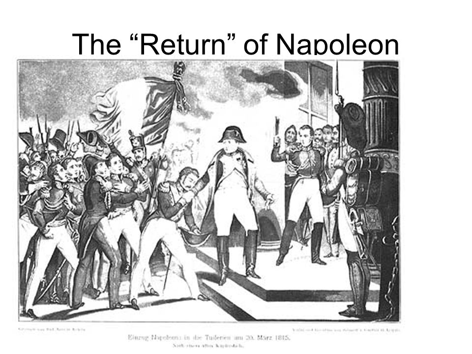 The Return of Napoleon