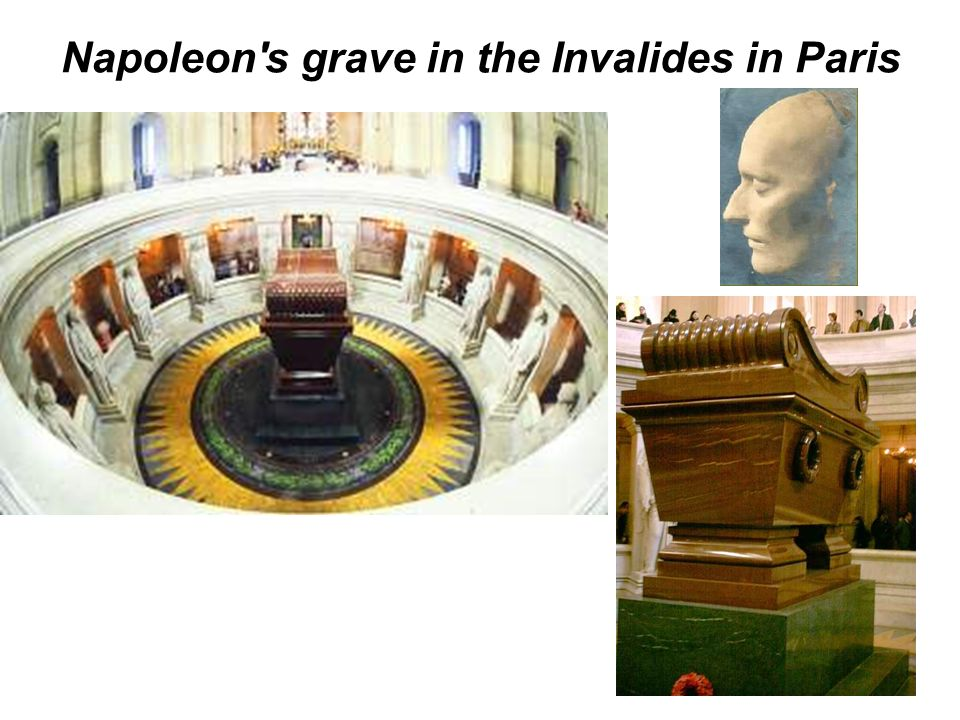 Napoleon s grave in the Invalides in Paris