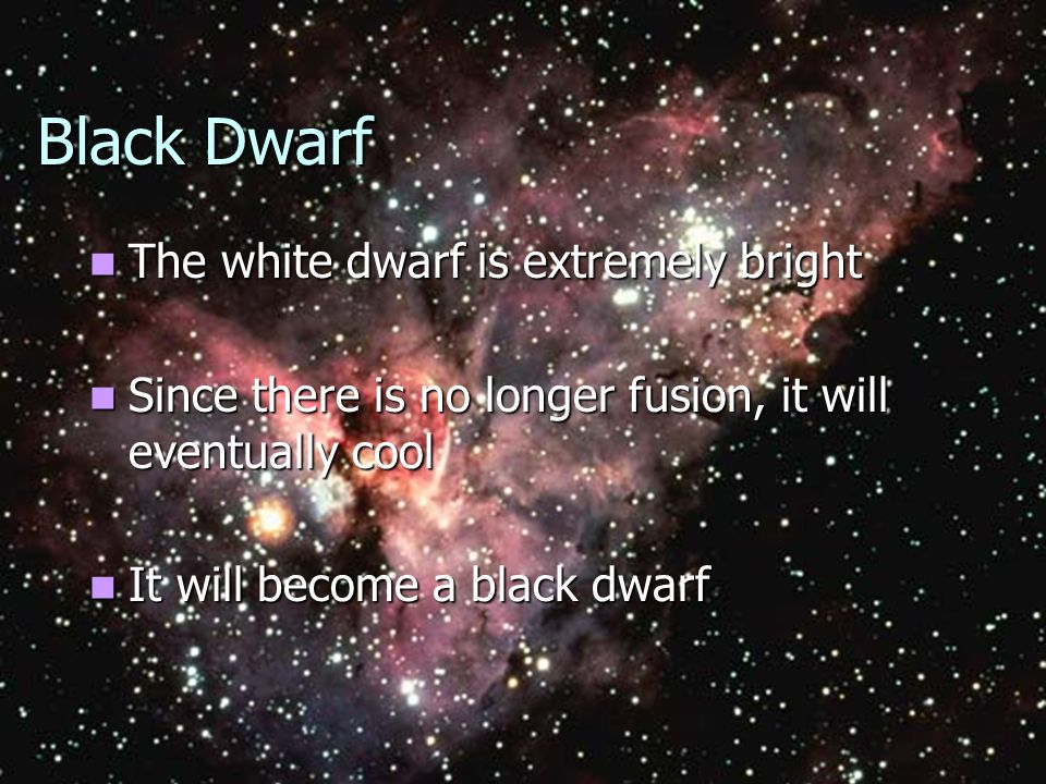 These are cooling White Dwarfs