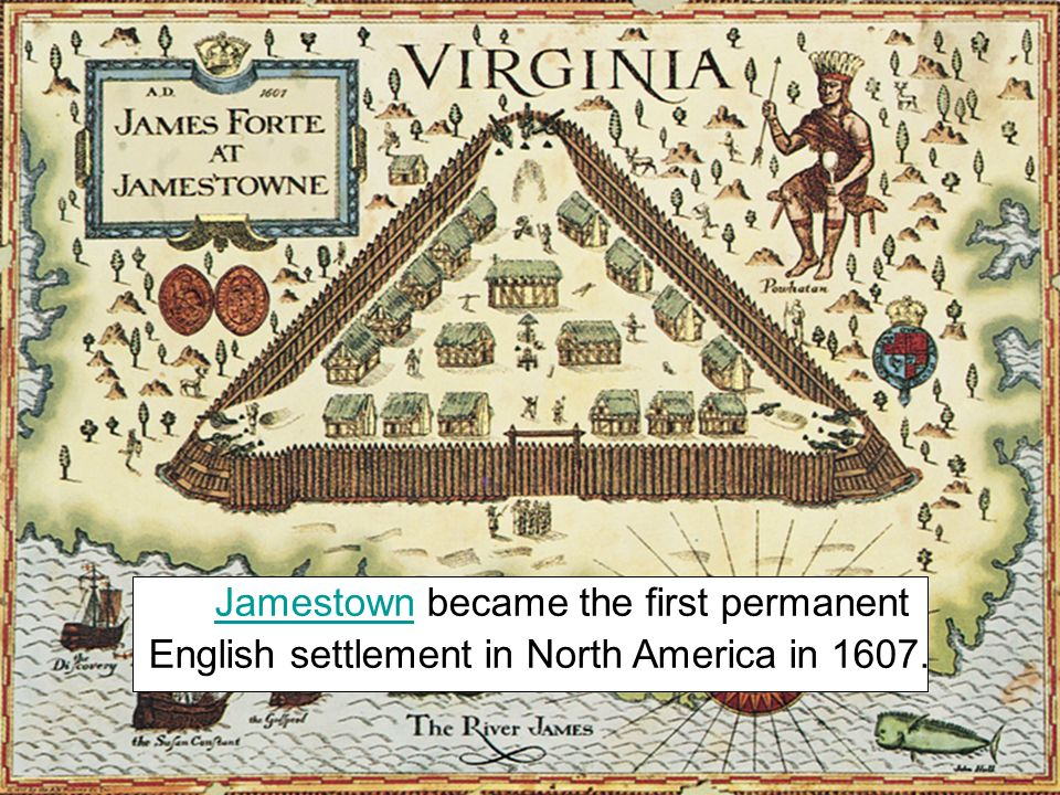 England wanted to establish an American colony nJamestown was primarily an economic venture. nThe Virginia Company of London financed the settlement o