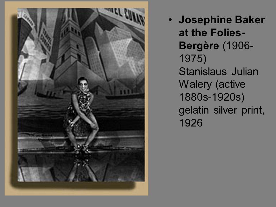 Josephine Baker at the Folies- Bergère (1906- 1975) Stanislaus Julian Walery (active 1880s-1920s) gelatin silver print, 1926