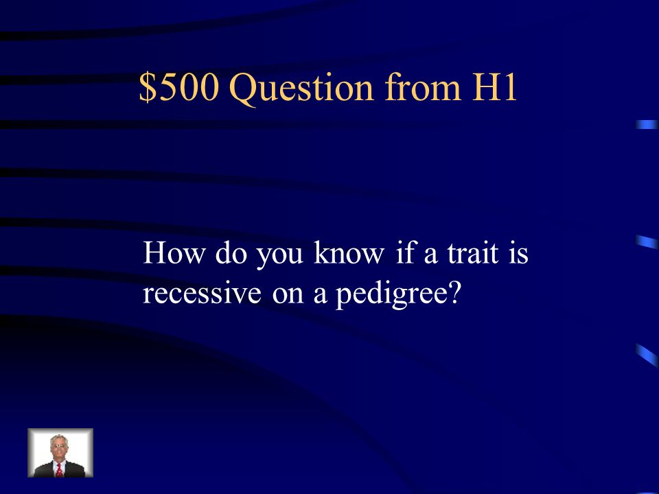 $400 Answer from H1 A square