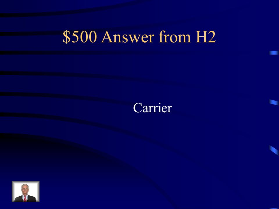 $500 Question from H2 What are you called if you have a trait genetically but you are not physically showing it?