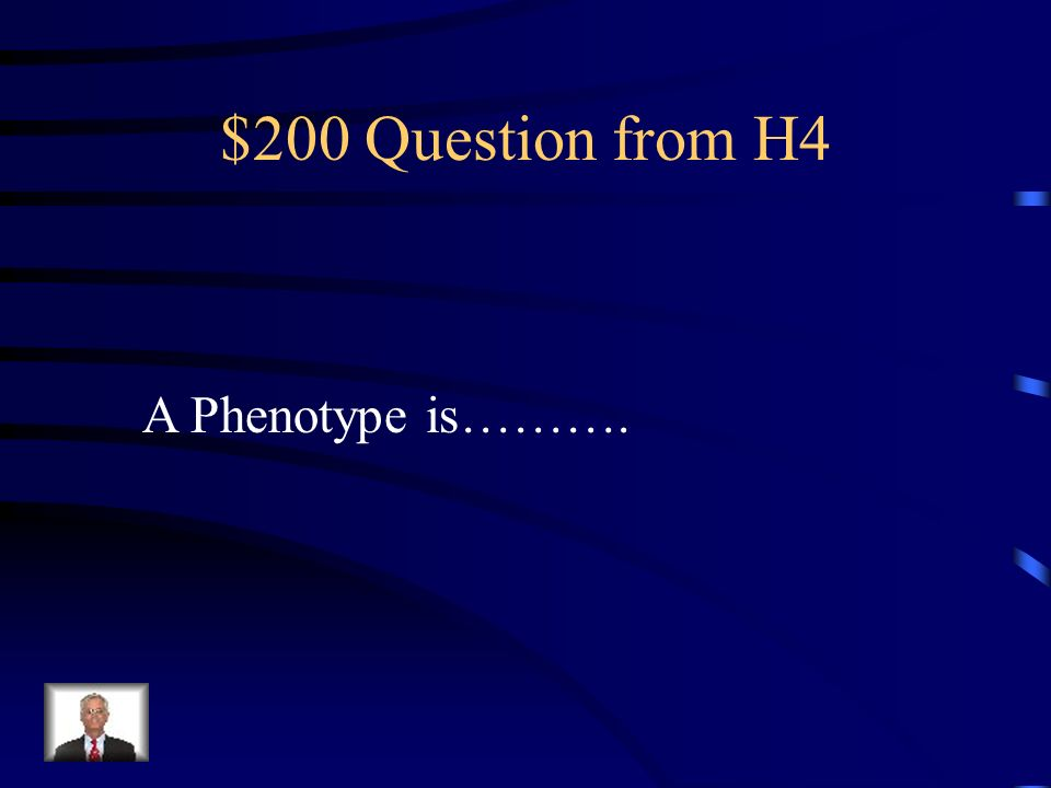 $100 Answer from H4 Stronger than
