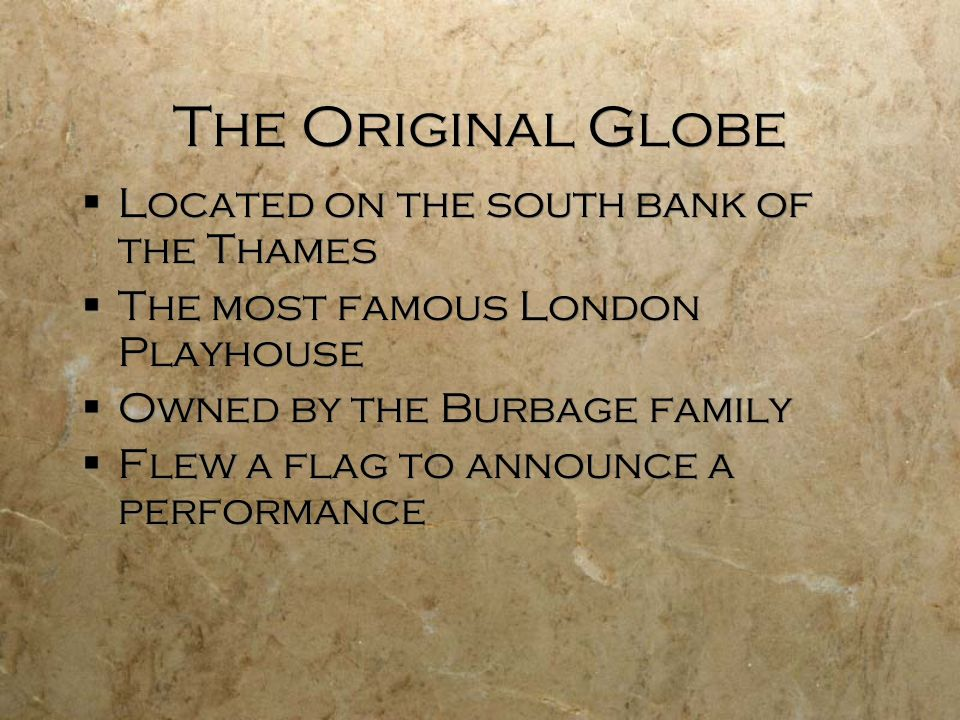 The New Globe Built in 1996 by American Sam Wanamaker on the banks of the Thames River in London