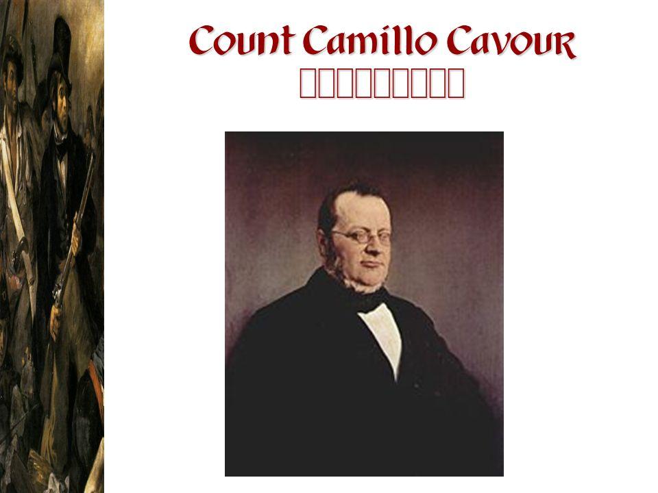Count Camillo Cavour 1810-1861
