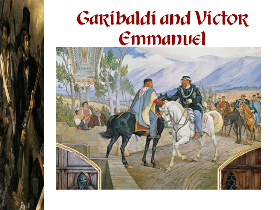 Garibaldi and Victor Emmanuel