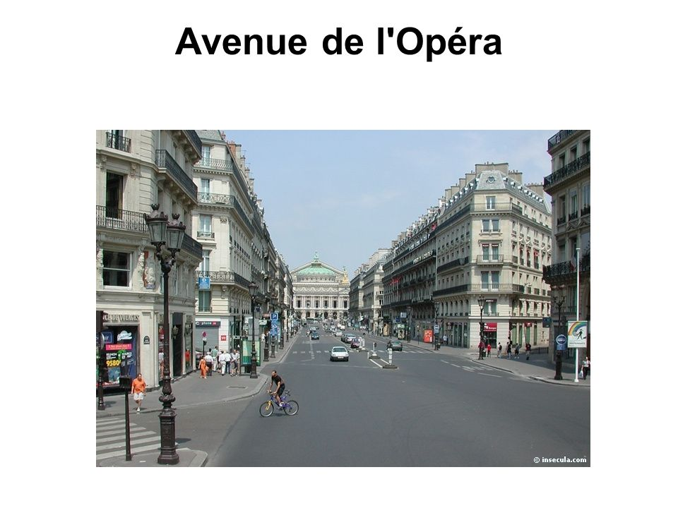Avenue de l Opéra