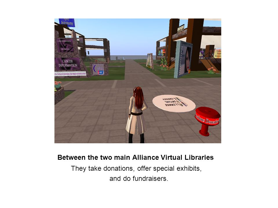 Alliance Virtual Libraries Reference Desk With Jecy, the Reference Librarian on duty.