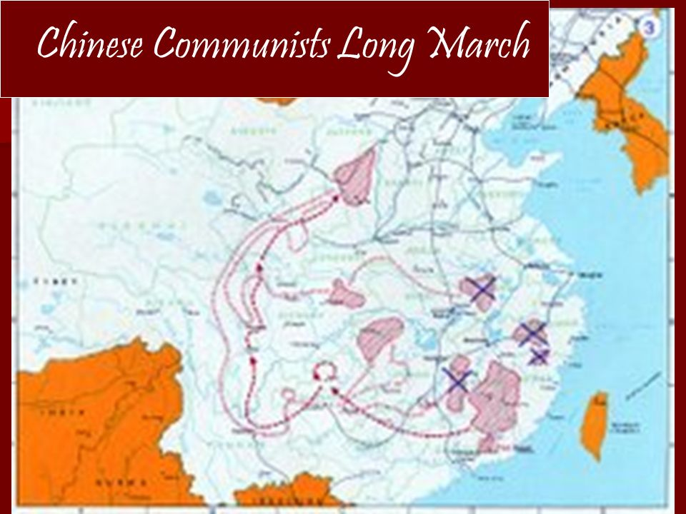 Chinese Communists Long March