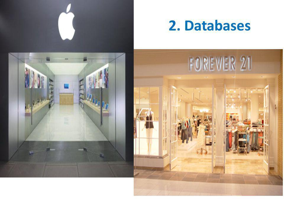 2. Databases