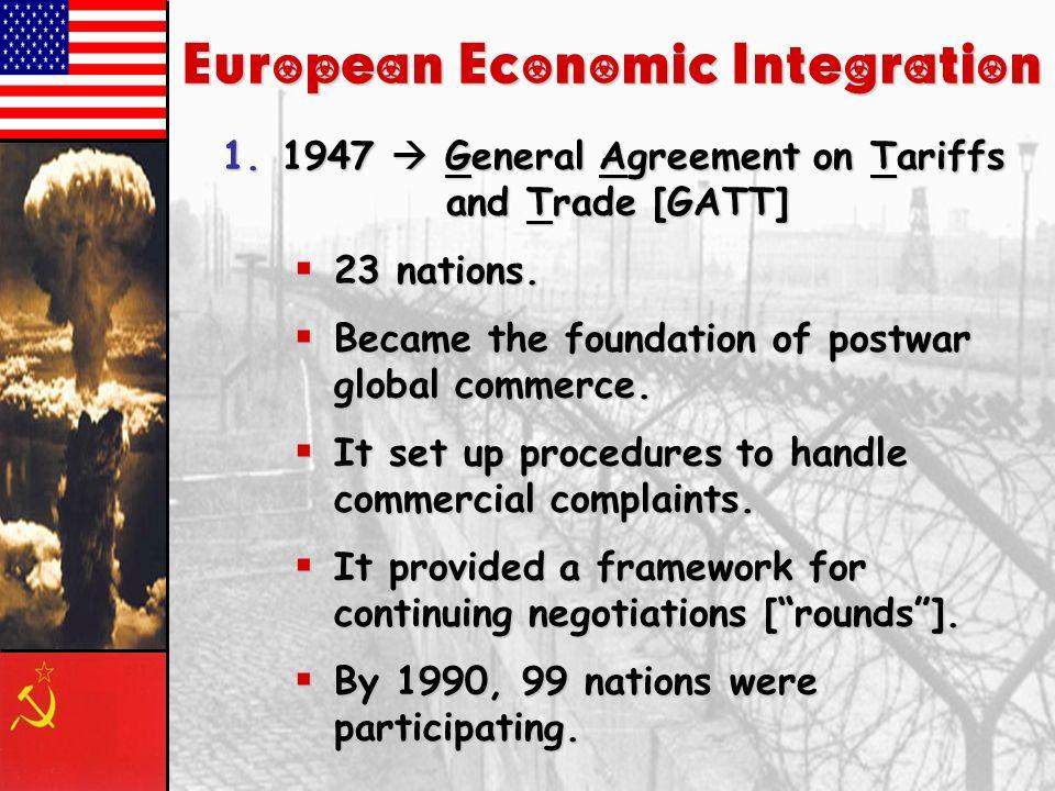 Part II: European Union Part II: European Union