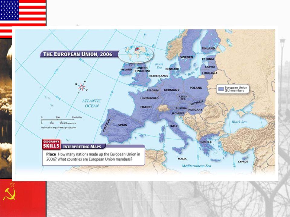 European Economic Integration 3.1957 European Economic Community [EEC] HQ Brussels. HQ Brussels. Treaty of Rome. Treaty of Rome.