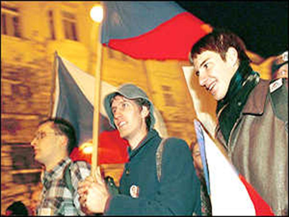 Czechoslovakia Velvet Revolution