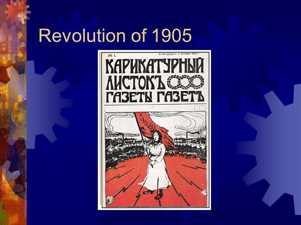 Reaction to Marxism Russia Revolution of 1905 Government reforms
