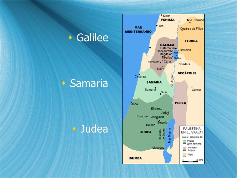 Galilee Samaria Judea Galilee Samaria Judea