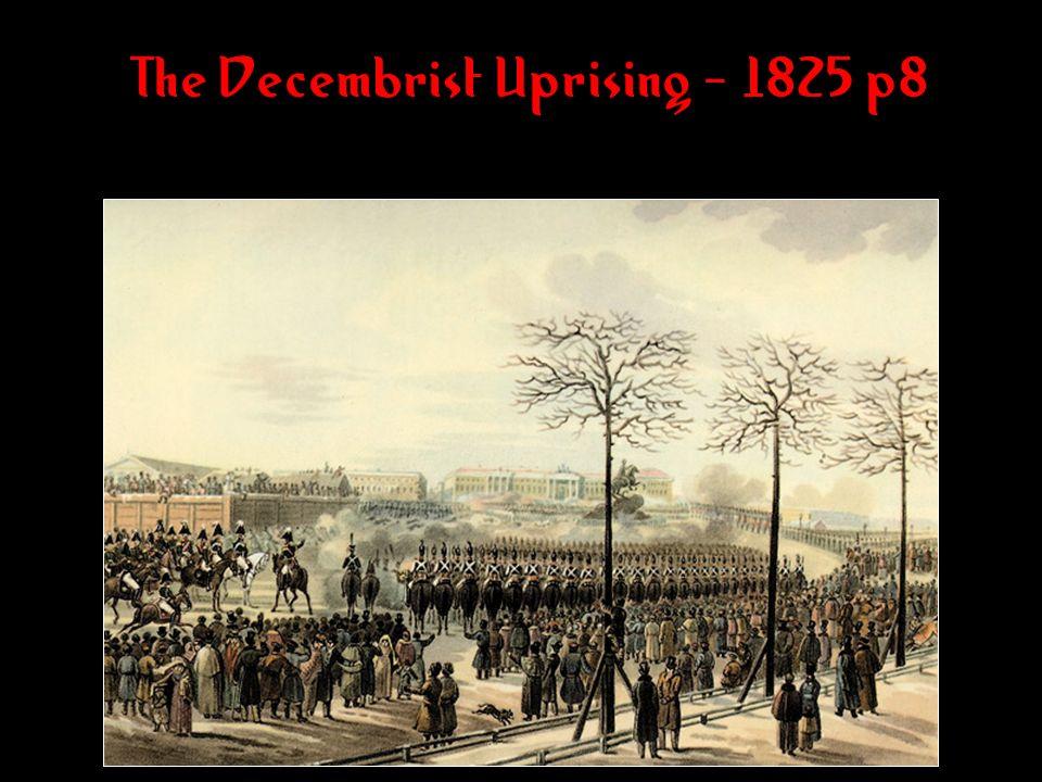 The Decembrist Uprising - 1825 p8